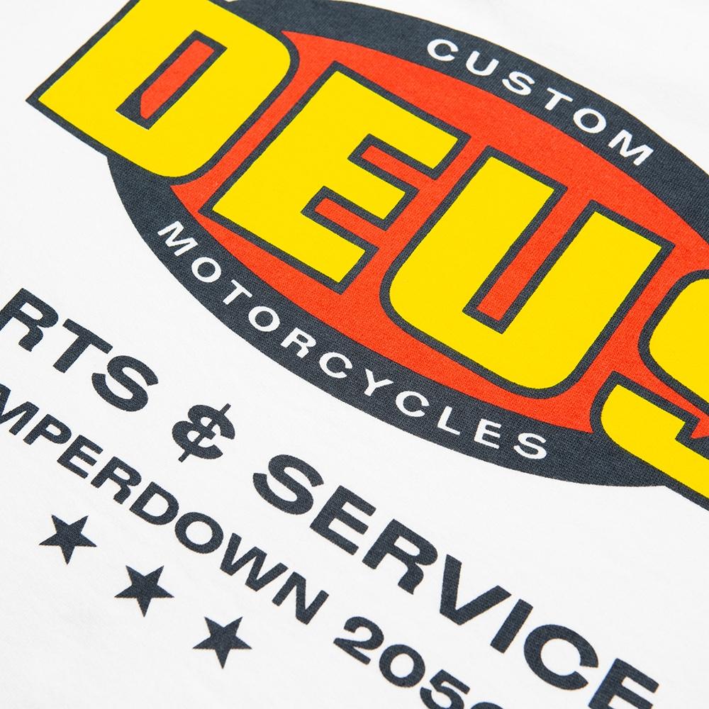 Deus Generator Crew - vintage white