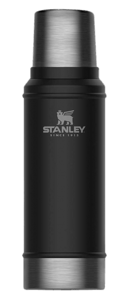 Stanley Vacuum Bottle 0,75 L - Classic schwarz