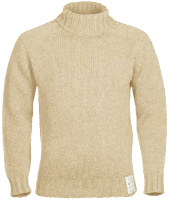 Royal Navy 1941 Submariner Rollneck - ecru