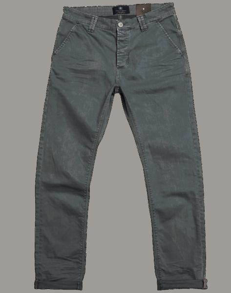 BLUE DE GENES Paulo Spin Trousers - Pale Grey