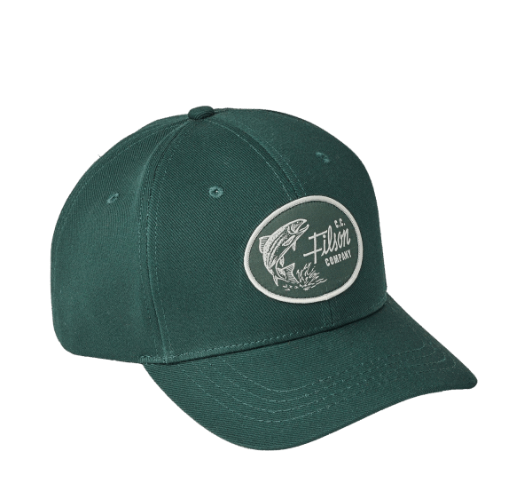 Filson Logger Denim Cap - Hunter Green