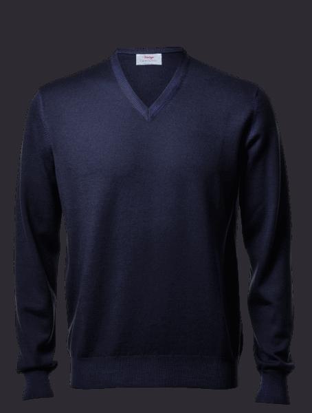 Gran Sasso Vintage, V-neck, navy