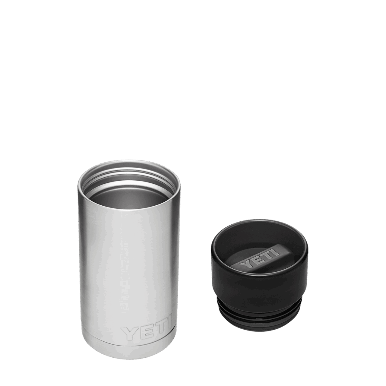 YETI Rambler 12oz (350ml) Flasche - steel
