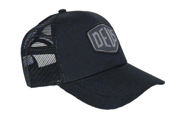 Deus Woven Shield Trucker - phantom black