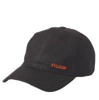Filson Oil Tin Low Profile Cap - black