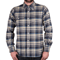 Pike Brothers 1937 Roamer Shirt Dark Blue Flanel