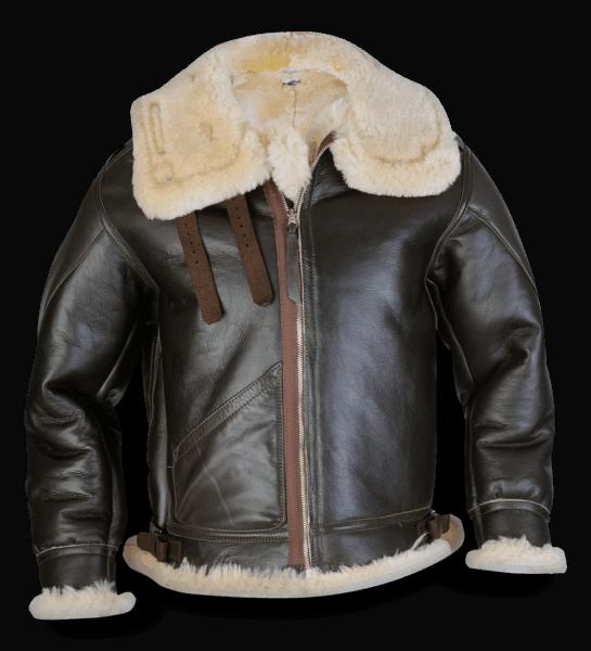 Aero Leather Type B-3 sealbrown