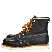 "Thorogood 814-6201 6"" Moc Toe Black"