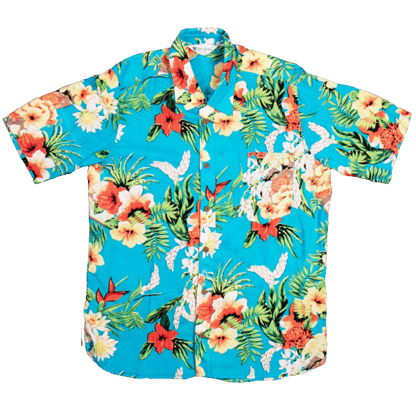 Pike Brothes Hawaii Shirt - Hapuna blue