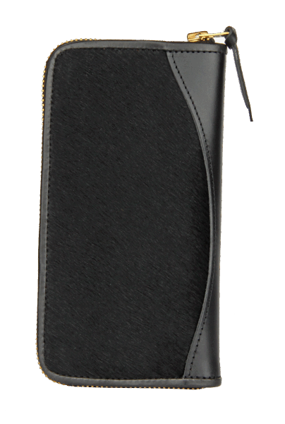Opus Long Wallet - black Pony