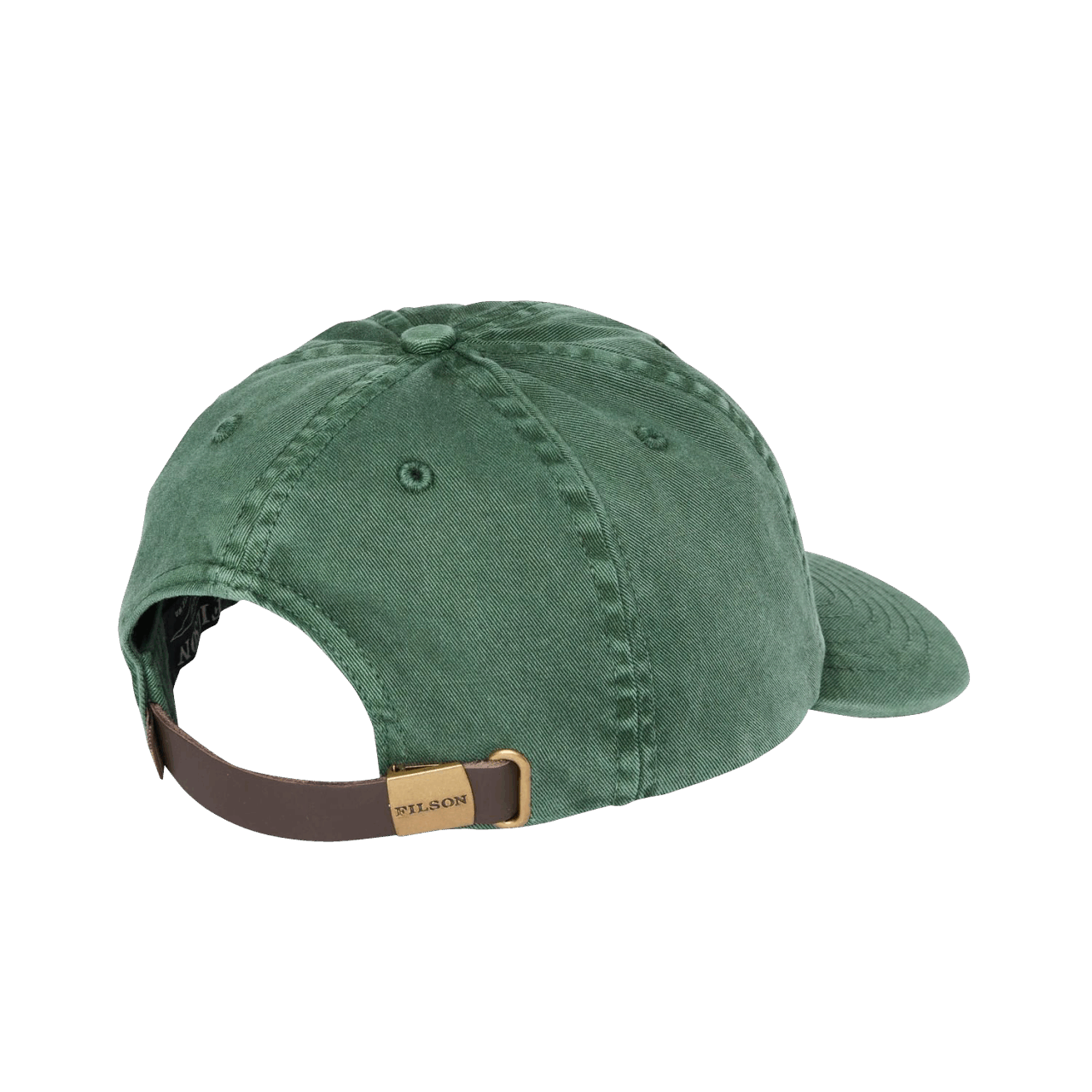 Filson Washed Low-Profile Cap - green