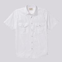 Filson Feather Cloth Shirt short- white