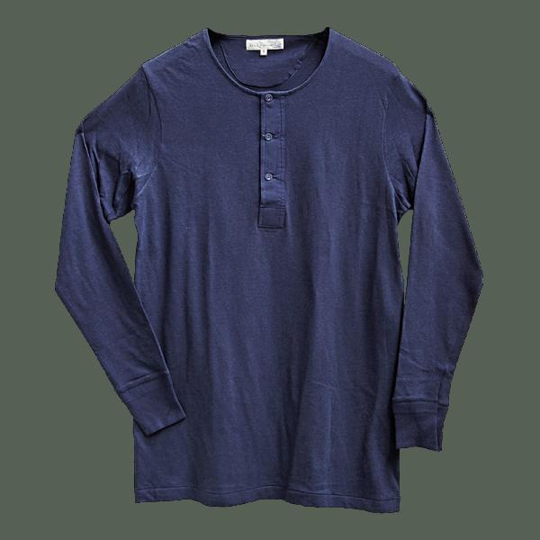 Merz beim Schwanen 1920's Shirt 102 - dark navy