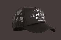 Deus Amsterdam Trucker Cap Black