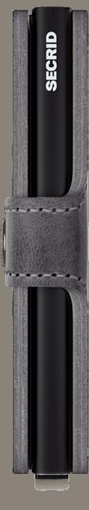 Secrid Miniwallet - Vintage - grau