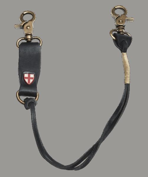 BBLUE DE GENES Savino Key Hanger Black