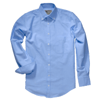 GORDON & FERGUSON CLASSIC OXFORD SHIRT blue