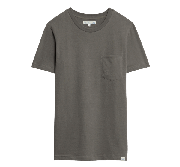 Merz b. Schwanen Basic Pocket T-Shirt - Army