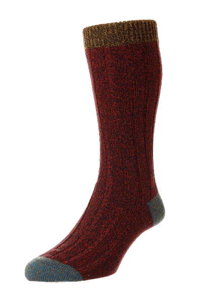 Scott Nickol Burghley Socken - chestnut