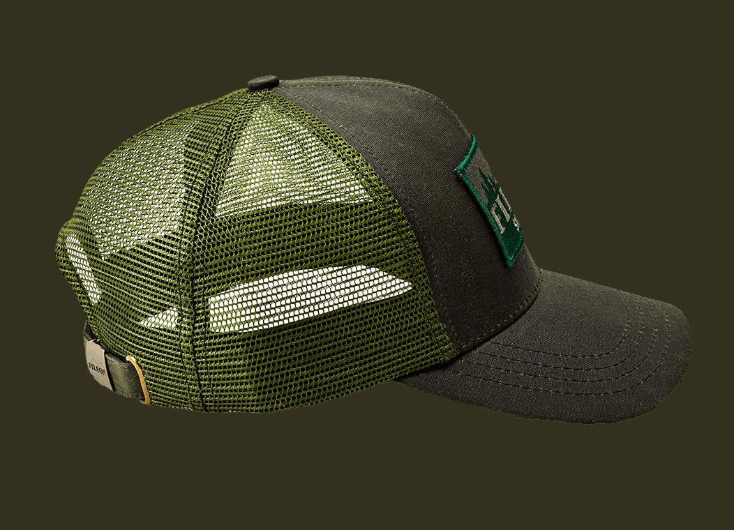 Filson Logger Mesh Cap - otter green