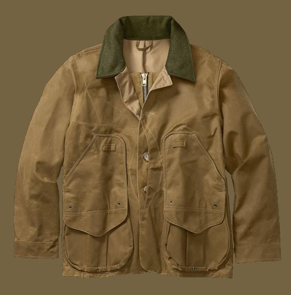 Filson Tin Cloth Field Coat - Tan