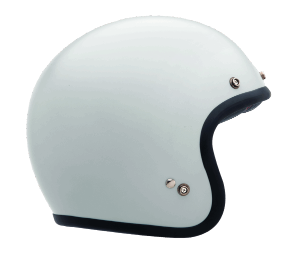 BELL Cust.500 Solid V. White 14