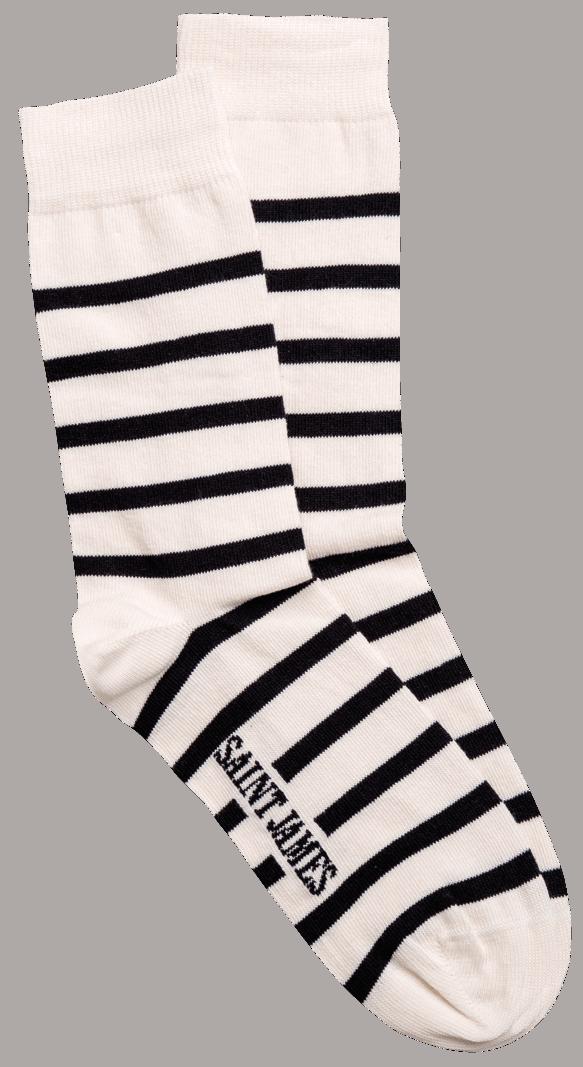 Saint James striped socks