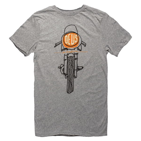 Deus Frontal Matchless Tee - grey