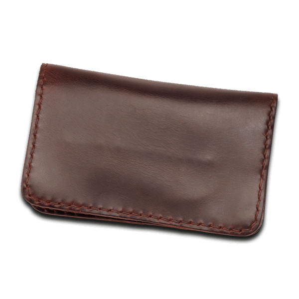 Coronado Leather HH13 BGY Portfolio Wallet Burgundy
