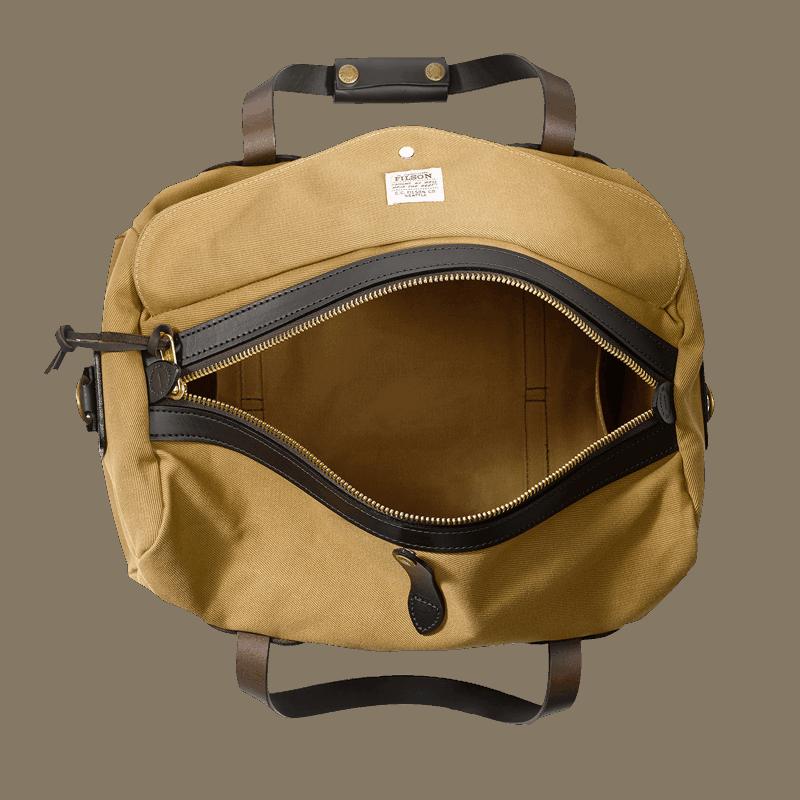 Filson Small Rugged Twill Duffle Bag - Tan