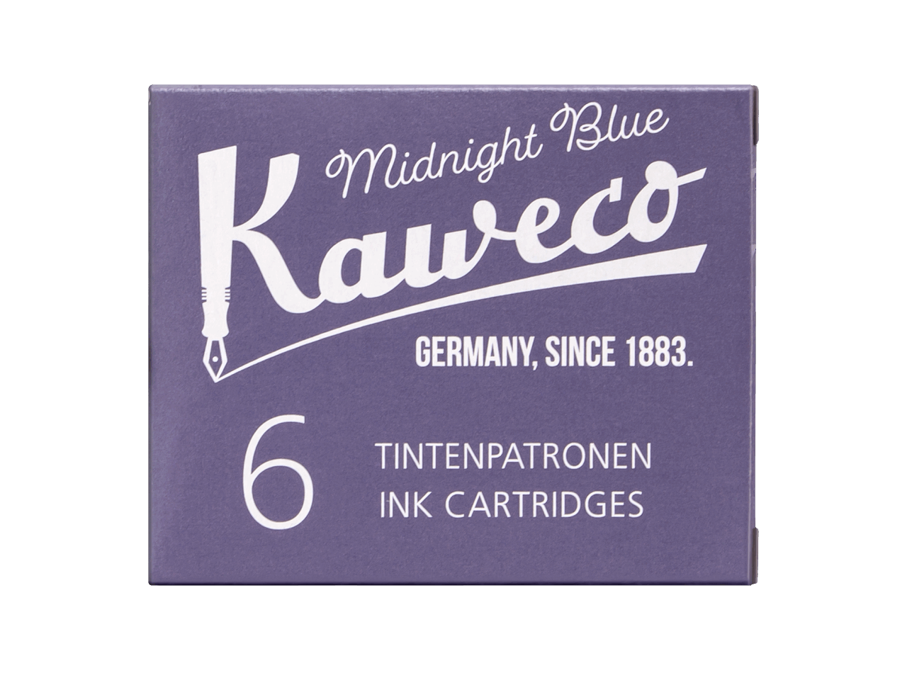 Kaweco Tintenpatronen 6 Stück - Mitternachtsblau