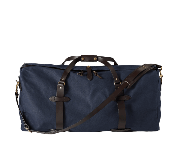 Filson Large Rugged Twill Duffle Bag - Navy