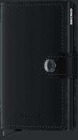 Secrid Miniwallet - Matte - schwarz