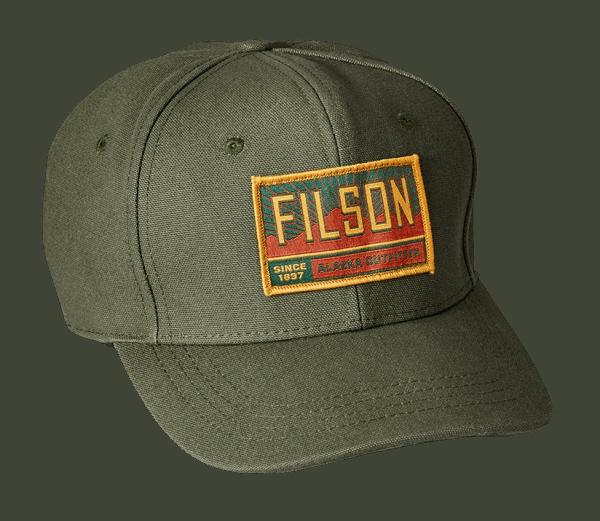 Filson Logger Canvas Cap - Otter Green