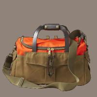 Filson Heritage Sportsman Bag Tan Orange