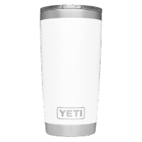 YETI Rambler 20oz (600ml) Becher - white