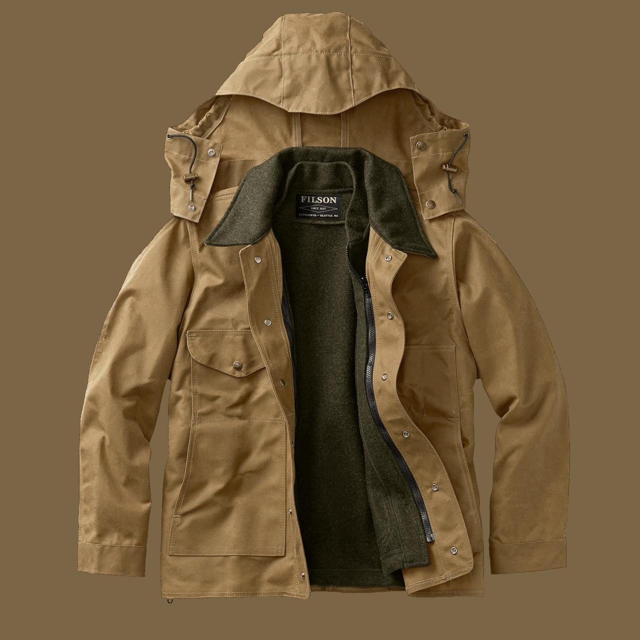 Filson Tin Cloth Jacket - Tan