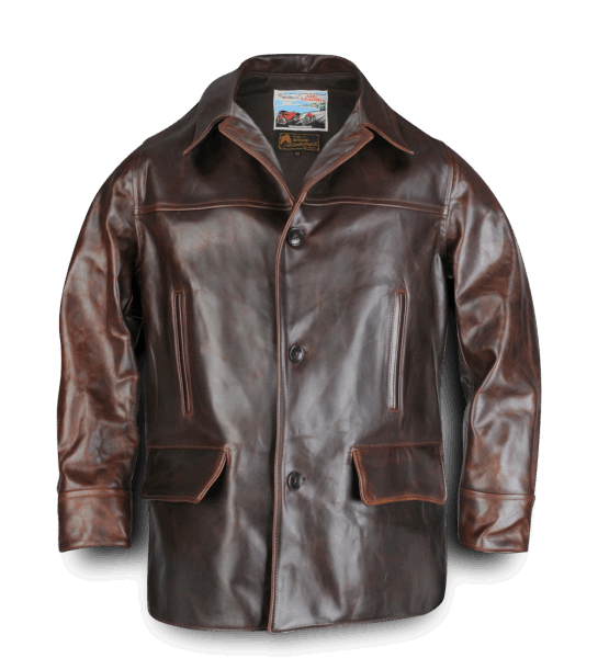 AERO LEATHER CHEYENNE - BROWN