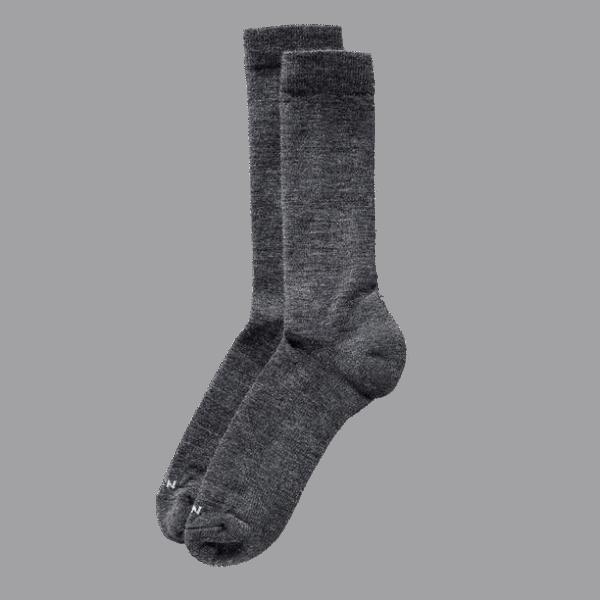 Filson Merino Everyday Crew Sock - charcoal