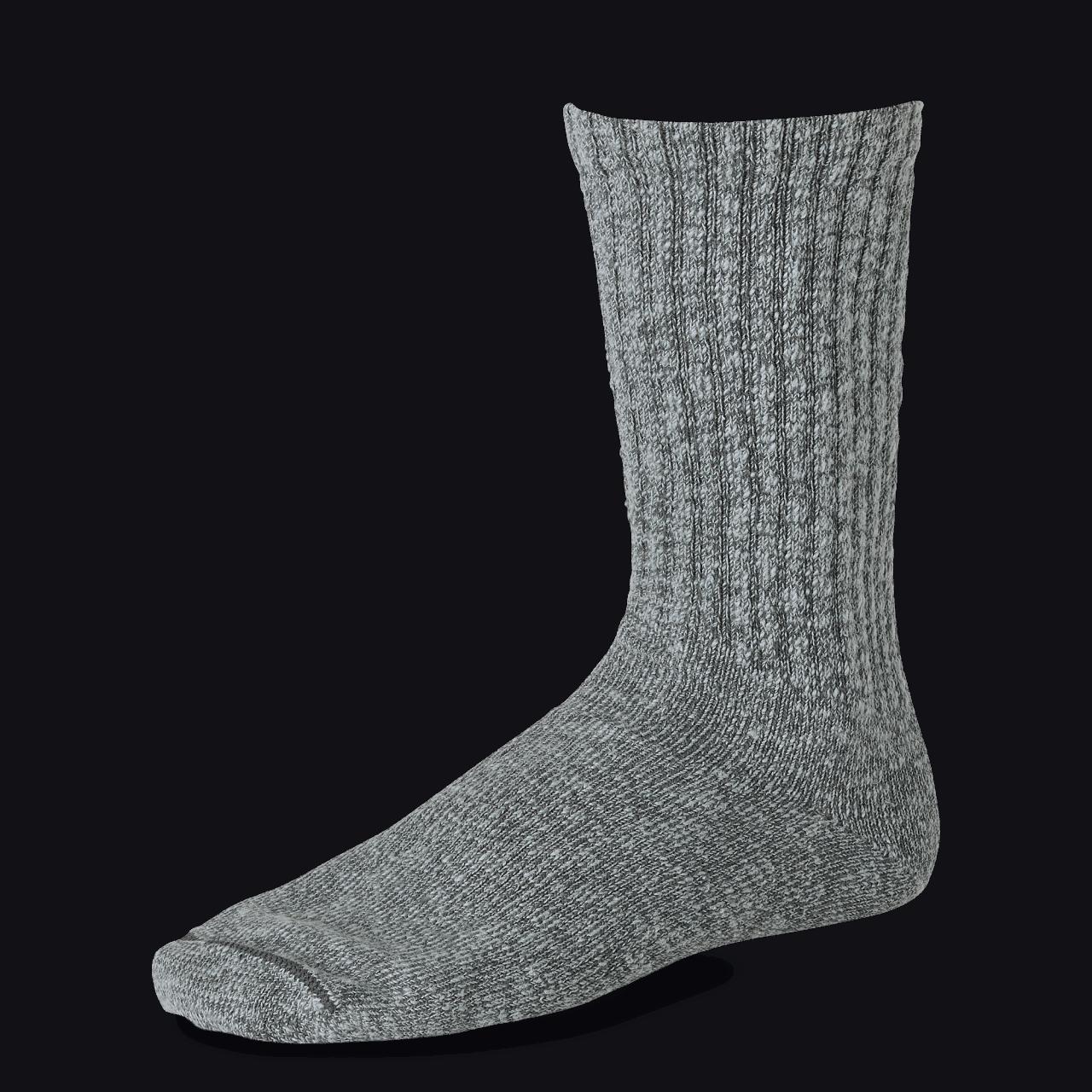 Red Wing Tonal Cotton Ragg Sock - black/gray