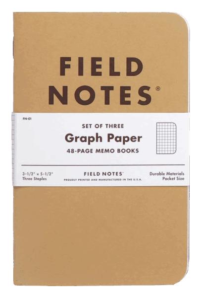 Field Notes Original Kraft - Graph