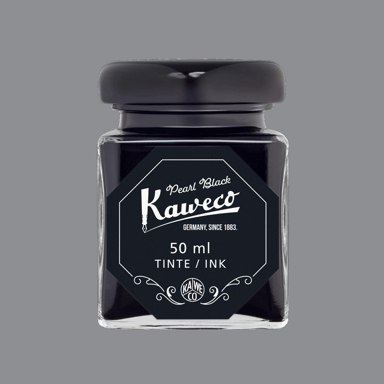Kaweco Tintenglas Perlenschwarz 50 ml