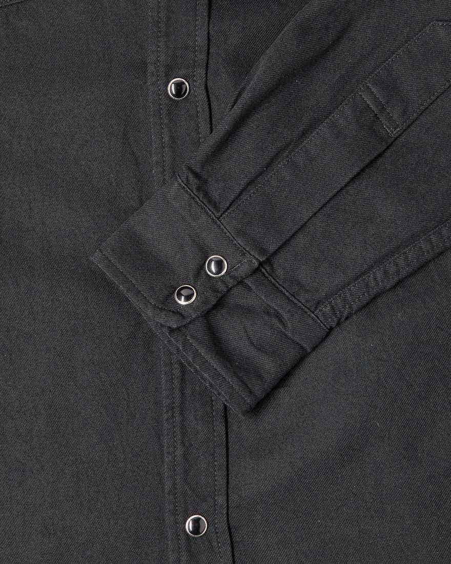 Edwin Fannar Denim Shirt - black