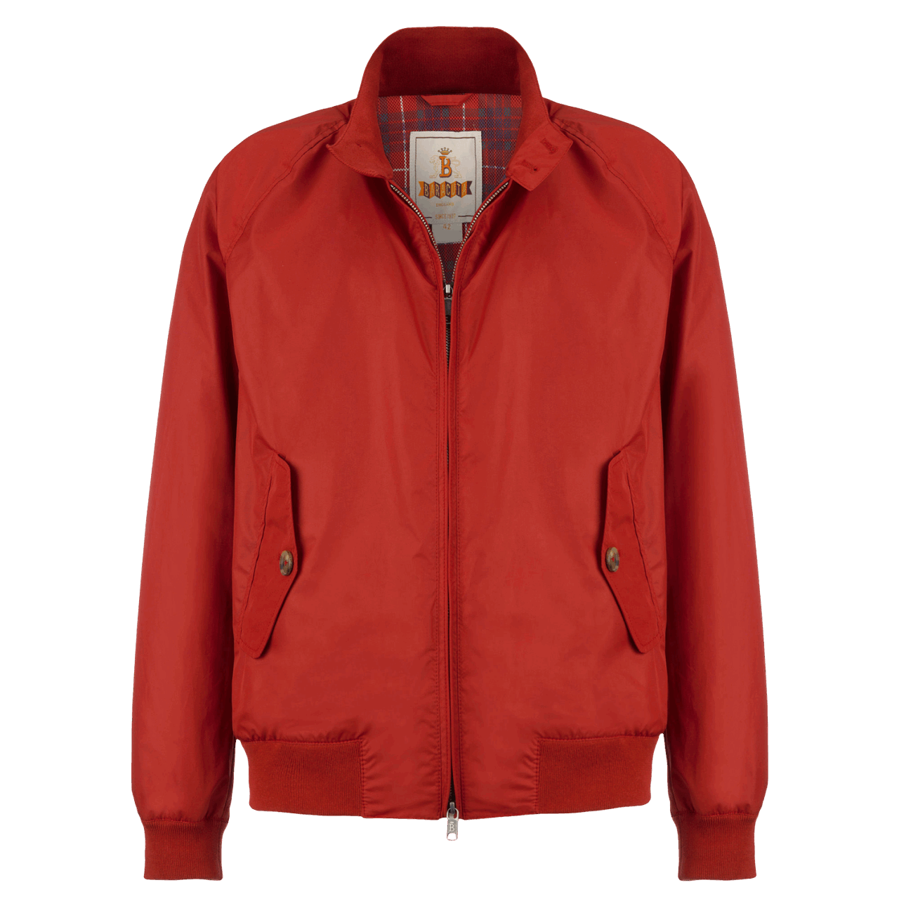 Baracuta G9 Jacke - dark red