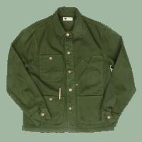 Tellason Coverall Jacket - dark green