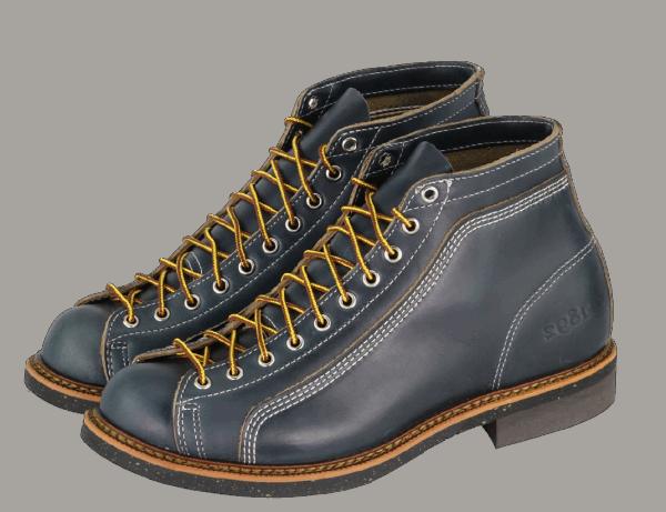 Thorogood 1892 Portage 824-9111 Indigo Horween