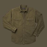 Filson Field Flannel Shirt - ottergreen