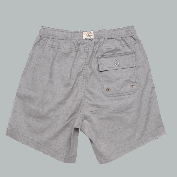 Deus Sandbar Hemp Mesh Shorts - Grey Rock