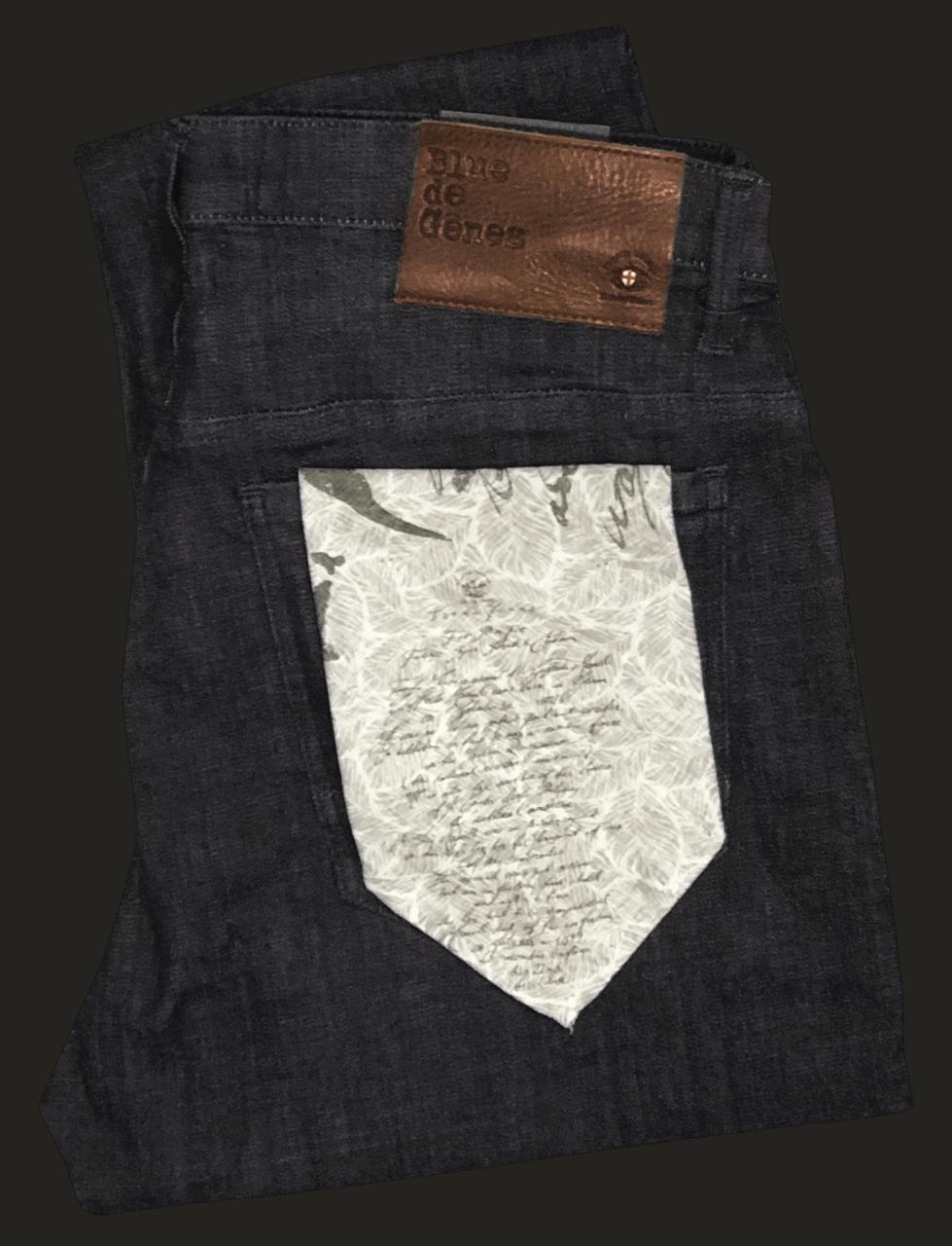 BLUE DE GENES Fredo Fonto Dark Jeans