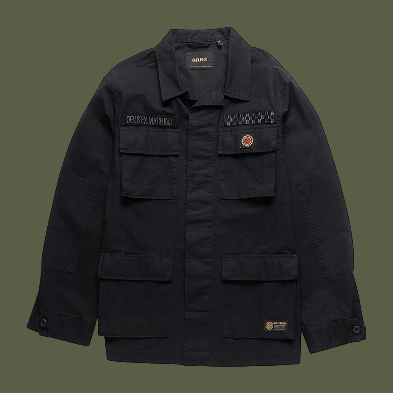 Deus Ripstop Jungle Shirt - Black